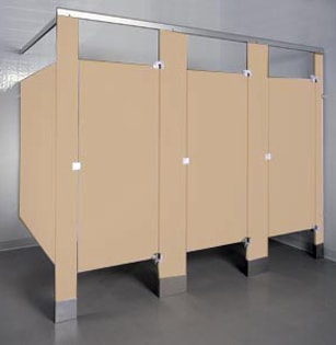 Phenolic Color Thru Bathroom Stalls