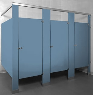 Powder Coated Steel - Azure 2101