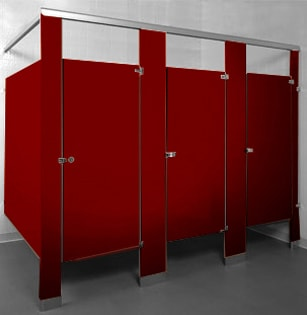 Powder Coated Steel - Burgundy 2148