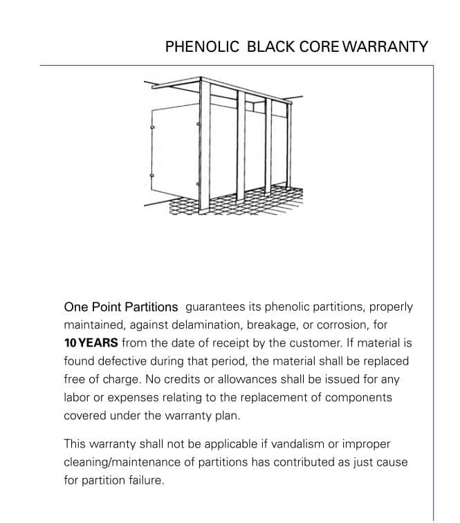 Warranty_Phenolic_Black_Core
